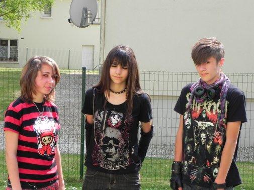 Trois amis...Mais trois style différent.....Mais Anarchie Pour la viiie