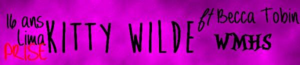 Kitty Wilde
