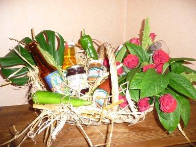 Panier de produits basques