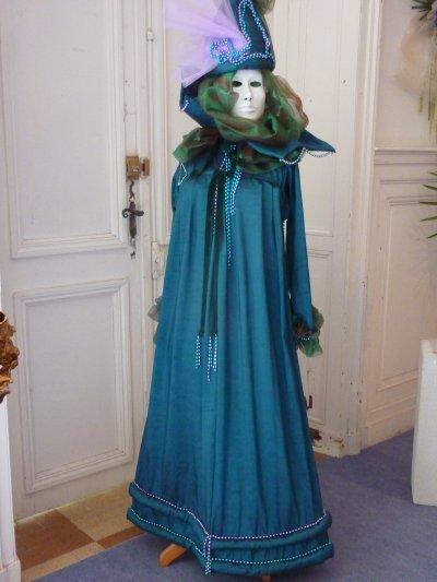 Exposition suite : masques vénitiens