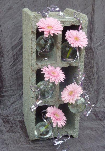 """Recyclage..... pour la revue de"""" l'atelier floral"""""""