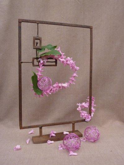 """Coeur """"rose Barbie"""" !!!!!"""