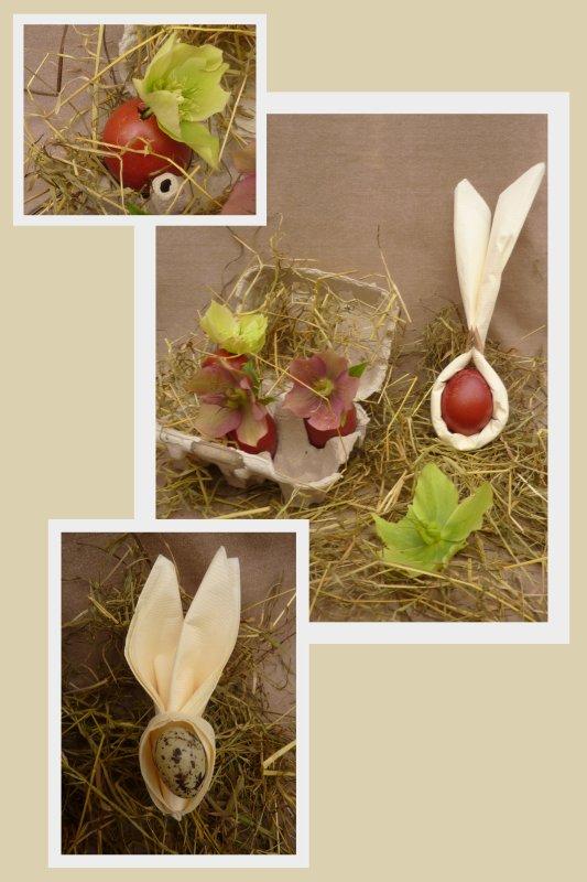 """Avec les petits lapins de """"Créationmartine""""........."""