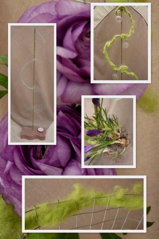"""Pour la revue """"Atelier floral"""""""
