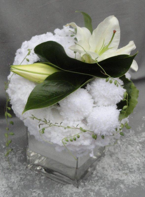 """Calendrier de L'Avent 2012   J- 4 """" Boule de neige  """""""
