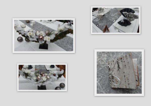 """Calendrier de L'Avent 2012   J- 1"""" Patchwork de ma table  """""""