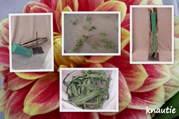 """""""L'atelier floral """"  ..ma participation"""