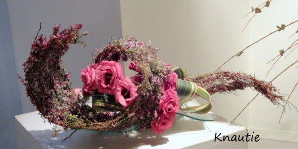 Exposition d'art floral à  Agon Coutainville