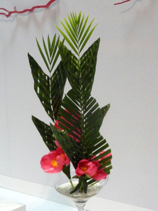Encore du tissage aux floralies