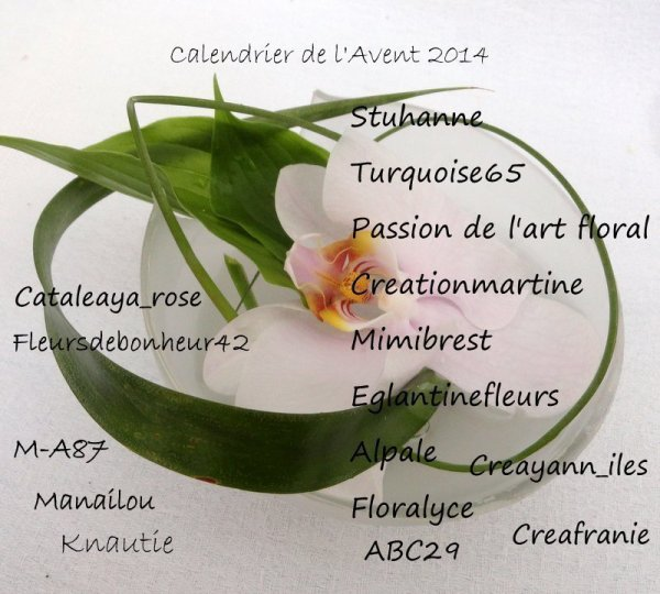 L'Avent 2014....