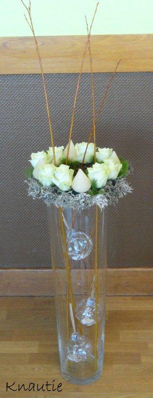 Calendrier de l' Avent ...J 16...... Sur un grand vase