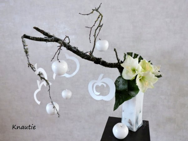 Ma participation à la revue de l'atelier  floral
