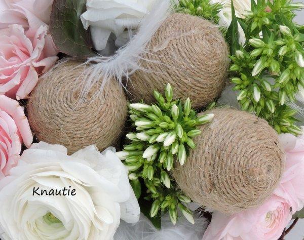 Calendrie de l'Avent Pascal ...J3  Bouquet rond