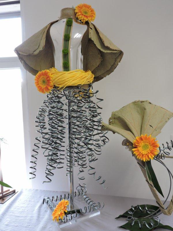 Exposition d'Art floral à Redon
