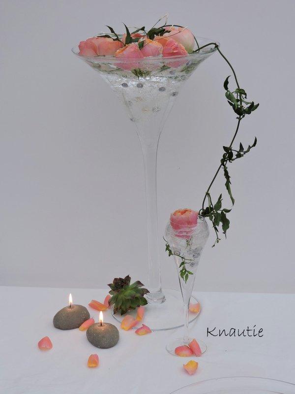 ma participation à l'atelier  floral