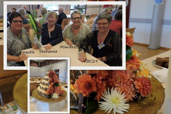 Le club d'art floral de Landrevarzec a fêté ses 30 ans