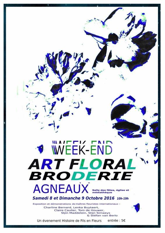 Week end floral Agneaux