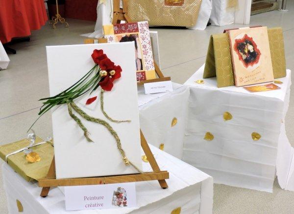 """Calendrier de l'Avent ...J16... Expo Centre Mersier : """" Peinture créative"""""""