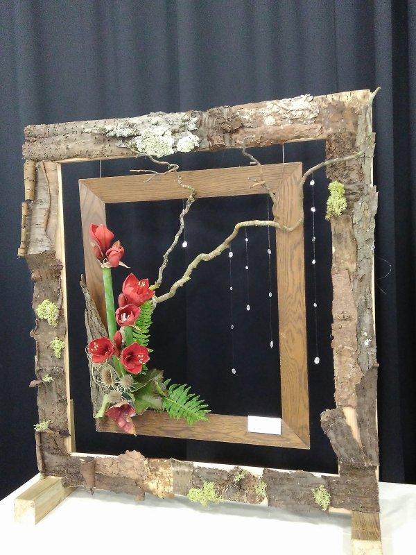Exposition d'art floral de l'atelier de La Mue