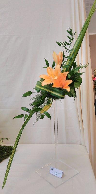 Exposition d'art floral de l'atelier de La Mue ..suite