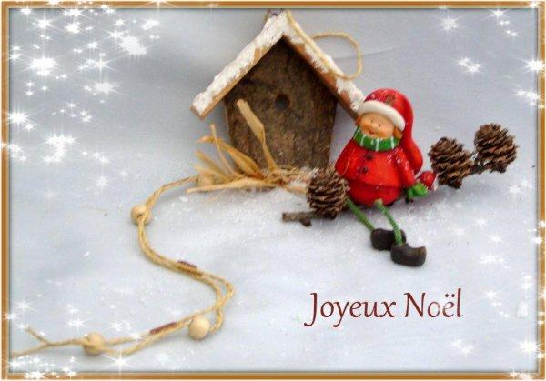 "...""Calendrer de l'Avent 2017 ...J--1... "" Joyeux Noël """