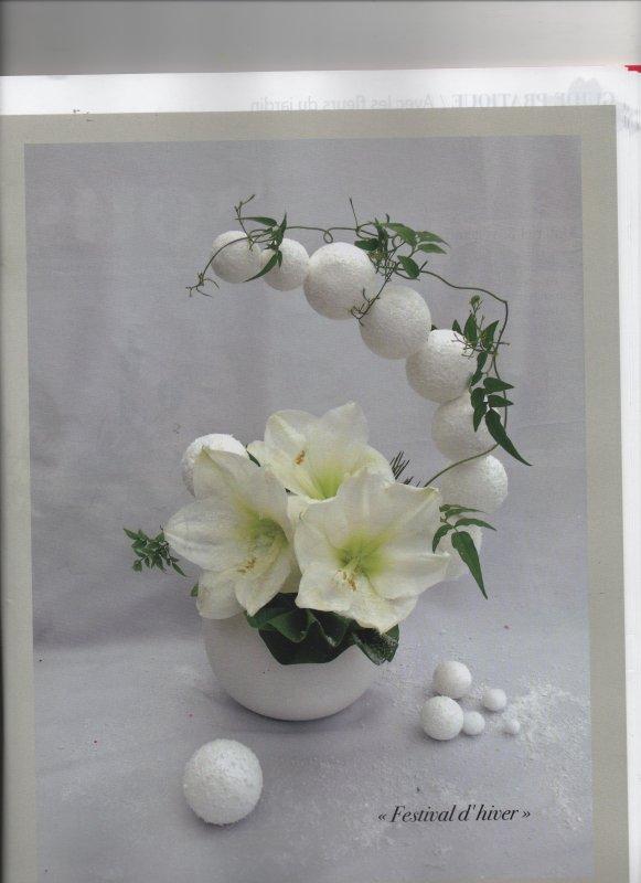 Atelier floral N°49  est paru