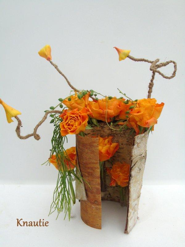 Ma participation à la revue de l'atelier floral n°50