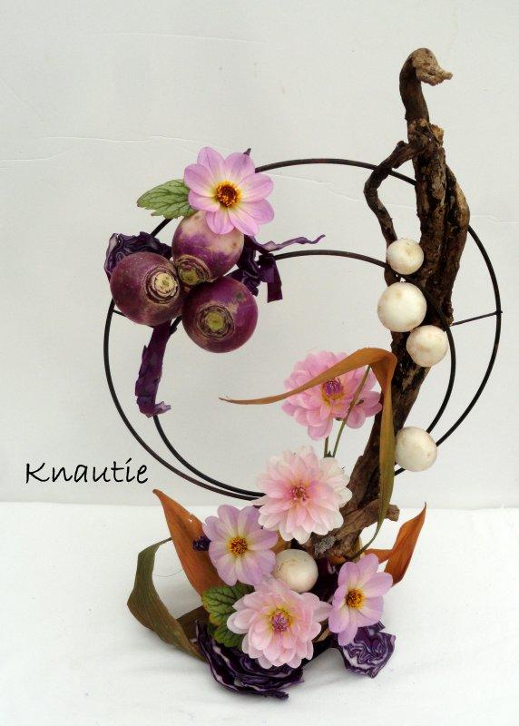 Participation à la revue de l'atelier floral