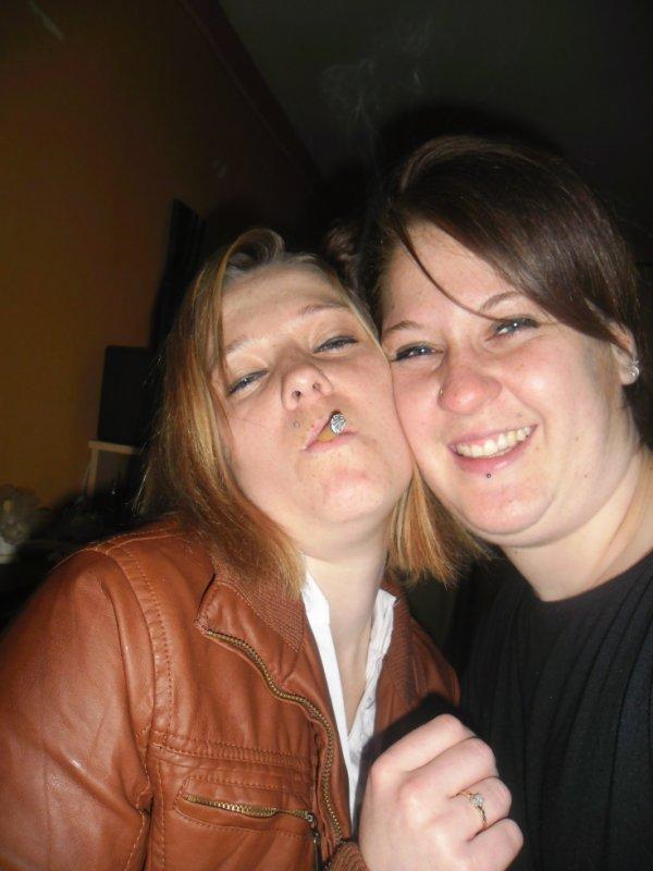 my sister et moi bien arranger lol