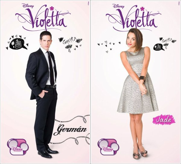 Violetta : Les personnages