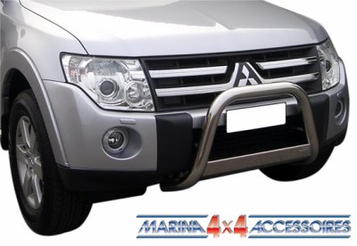 MEDIUM BAR INOX 63.5 MITSUBISHI PAJERO DID 2007+ CE