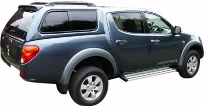 HARD TOP CARRYBOY MITSUBISHI L200 DB CAB 2010+ LONGUE BENNE