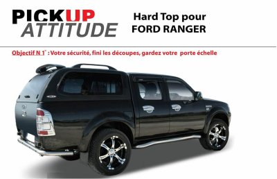 Hard top « Prestige » vitré Super Cabine FORD RANGER