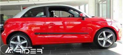 Baguettes latérales adhésives Audi A1 depuis 2011 Nouveau chez Garage Georges Multimarques