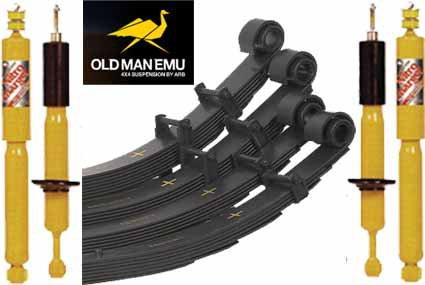 Kit OME ressorts à lames Nissan Navara D40