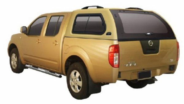 HARD TOP ABS NISSAN NP300 DBLE CAB 2008+ AVEC VITRES LATERALES