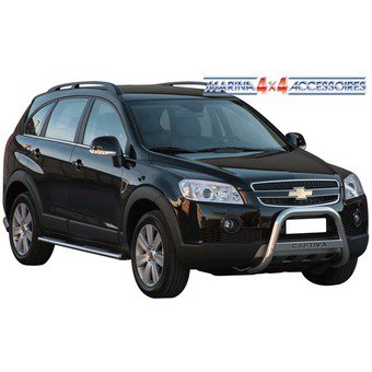 MEDIUM BAR INOX pour CHEVROLET CAPTIVA 2011 +