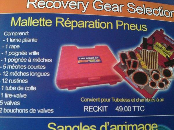 MALLETTE Réparation Pneus TERRAIN TAMER