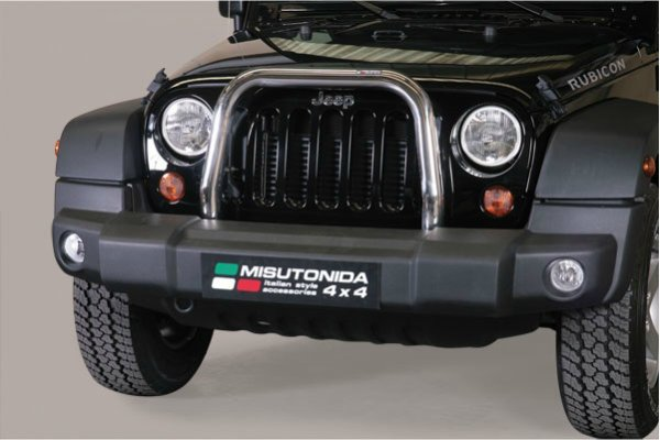 MEDIUM BAR INOX  JEEP WRANGLER 2011+ 5 PORTES