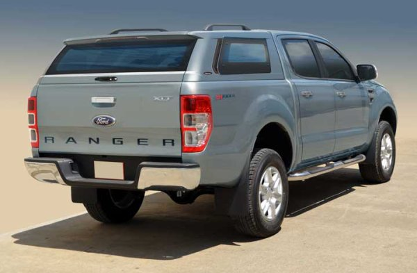 hard top maxtop stylish ford ranger 2012 double cab gris 18g made in 4x4. Black Bedroom Furniture Sets. Home Design Ideas