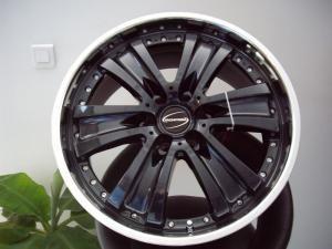 """Jantes Aluminium 20 Pouces Jantes Alu 20"""" Hawk Eyes couleur Black Pour NISSAN D40 ou D22 NP300"""