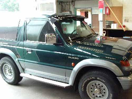 Visières pare soleil Mitsubishi PAGERO DE 1995 à 2000