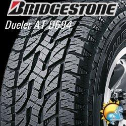 Pneu BRIDGESTONE 265/65R17 D694