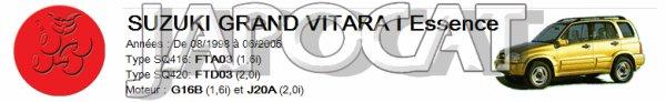 OPTIQUE DROIT / GAUCHE ELECTRIQUE pour  SUZUKI GRAND VITARA  année 1998 à 2006