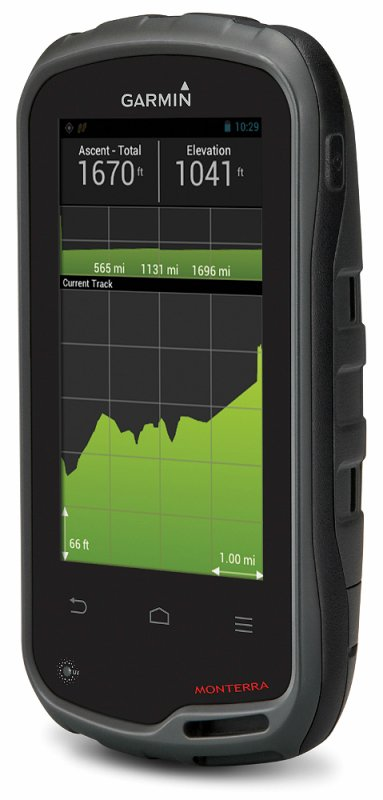 Monterra Le GPS Outdoor avec système Android