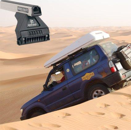 Barres de toit Rhino-Rack  pour  Toyota KDJ 90/95