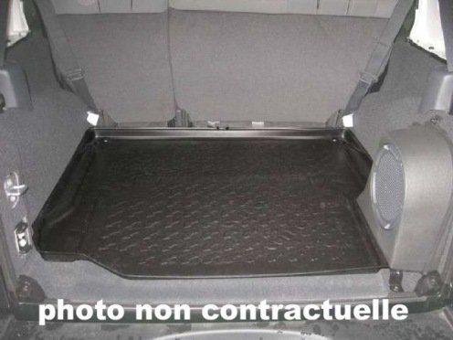 FOND DE COFFRE CHRYSLER JEEP WRANGLER III, 5 PORTES, DEPUIS 01/11, 4/5 PLACES ASSISES