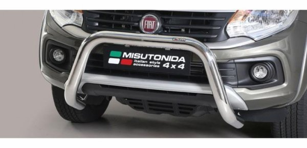 SUPER BAR INOX et Médium Bar Inox pour  FIAT FULLBACK 2016+