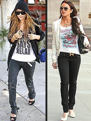 Mary kate Olsen & Lindsay Lohan, 2 Top pour ma part sans préférence.