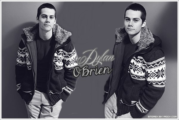 !  Créa sur Dylan O'brien + bonus : Stupid fact !  !